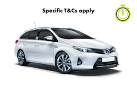TOYOTA AURIS ECO AUTO-DIRECT TO CAR
